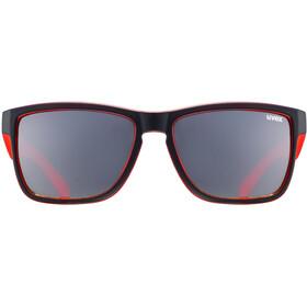 UVEX LGL 39 Brillenglas rood/zwart